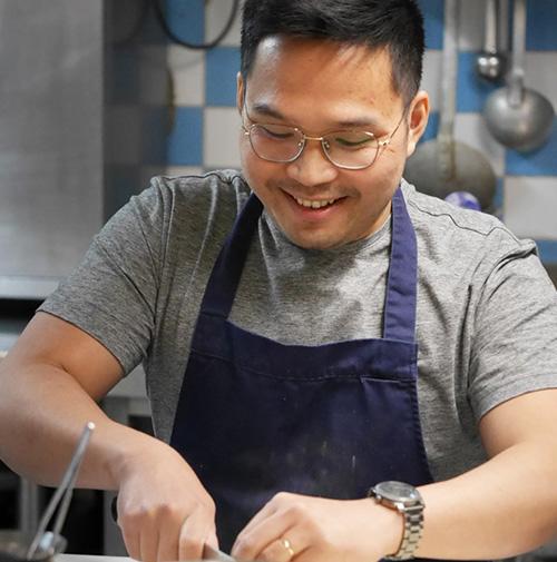 chef Manh Ha Doan restaurant Le 62